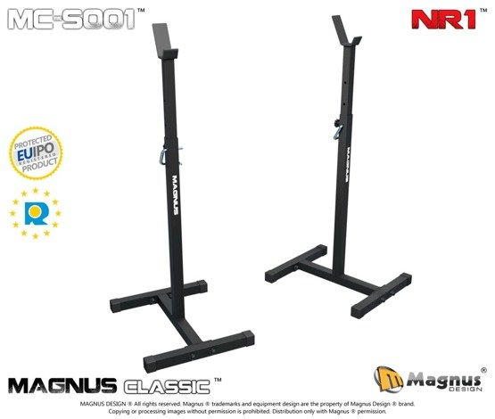 MAGNUS ® MC-S001 Strong training stands for barbells