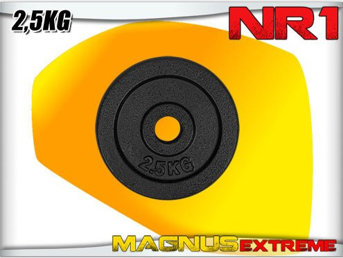 Weights for barbell Magnus Extreme 2,5kg