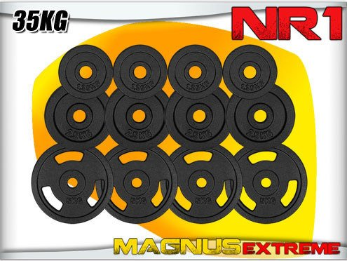 Weights for barbell Magnus Extreme set 35kg