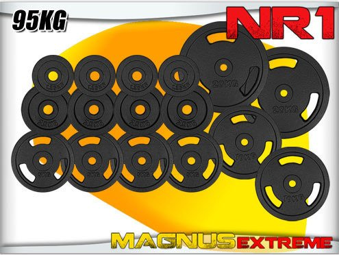 Weights for barbell Magnus Extreme set 95kg